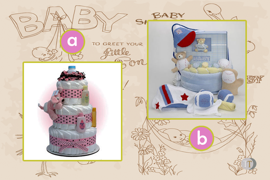 Baby Shower Diaper Cake copy