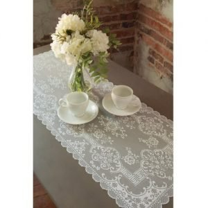 Downton Abbey Grantham White Lace Table Runners