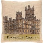Downton Abbey Pillow Cover Castle Highclere Castle