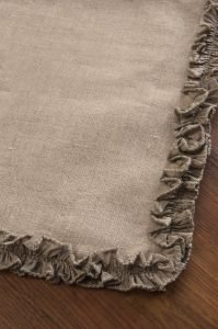 Downton Abbey Ruffled Luxury Runner 2