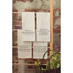 Downton Village Tea Towels