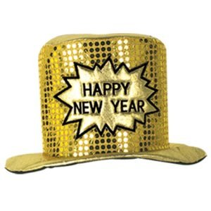 Glitz 'N Gleam HNY Top Hat
