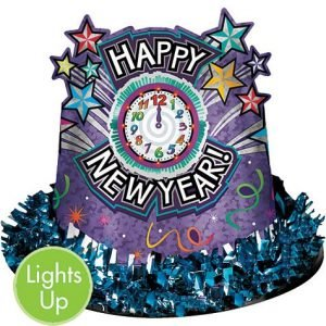 Light-Up New Year's Prismatic Hat