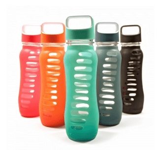 Recycled Glass Water Bottles