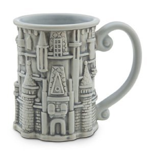 Disney - Sculptured Cinderella Castle Mug