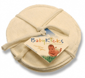 babykicks hemp jersey nursing pads