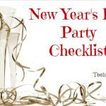 From Food to Frills: Your Complete New Year's Eve Party Checklist
