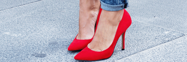 Red Shoes for Valentine's Day