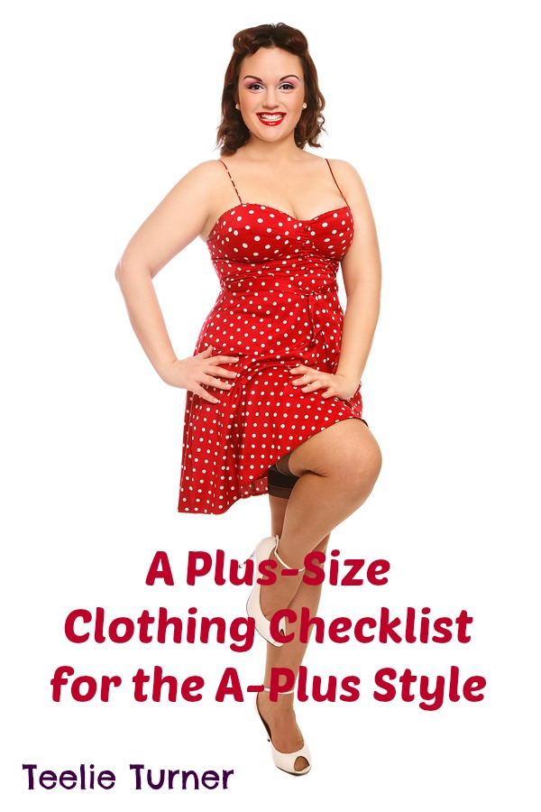 A Plus Size Clothing Checklist Cover