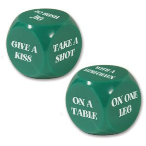 Beistle St. Patrick Decision Dice Game