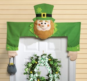 Leprechaun Door Hugger St. Patrick's Day Decoration