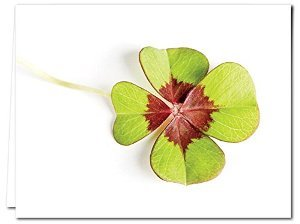St. Patrick's Day Note Cards - Leaves of Luck