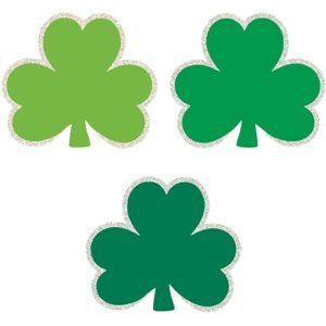 St. Patrick's Day Shamrock Mini Cutouts