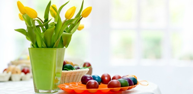 A Bright and Playful Easter Home