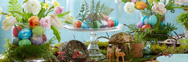 Table Setting Pieces for Easter Entertaining