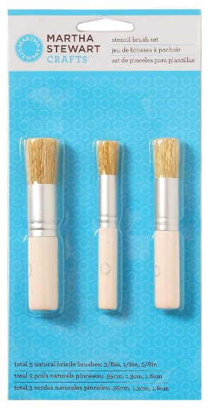 stencil brushes