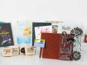 Gorgeous Greeting Cards Hero Arts Salutations Kit