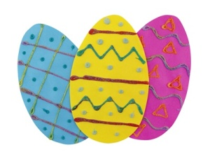 Group Supply Pack - Easter Egg Decorations from Hygloss Products