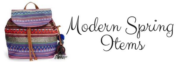 Modern Spring Items You Should Have