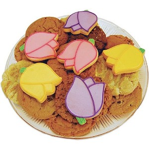 Mom's Tulip Blossoms Cookie Tray