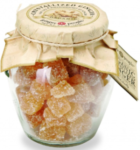 Organic Crystallized Ginger Jar