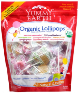 Organic Lollipops