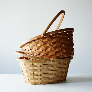 Wood Easter Basket from Food52