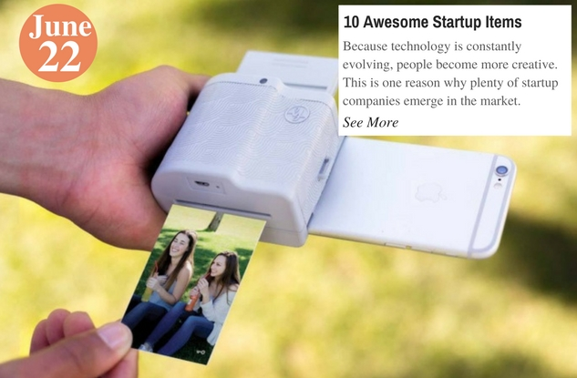 10 Awesome Startup Items