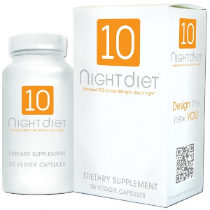 10 NIGHT DIET CAPSULES
