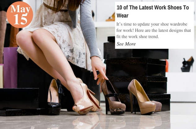 10 of The Latest Work Shoes To Wear