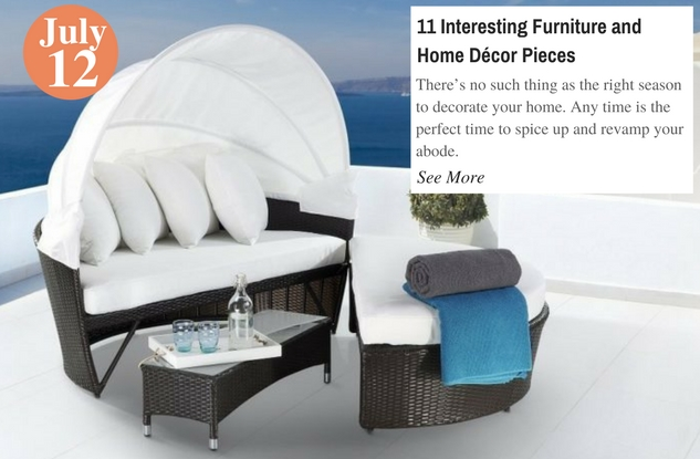 11 Interesting Furniture and Home Décor Pieces