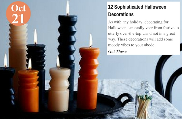 12 Sophisticated Halloween Decorations