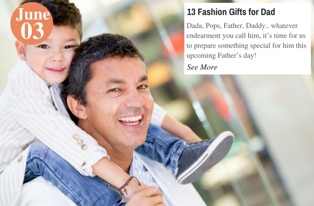 13 Fashion Gifts for Dad