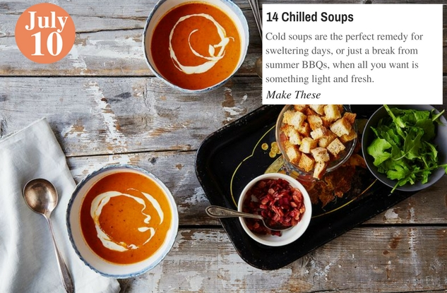 14 Chilled Soups