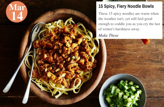 15 Spicy, Fiery Noodle Bowls