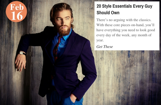 20 Style Essentials Every Guy Should Own