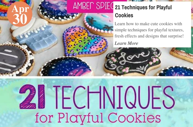 21 Techniques for Playful Cookies