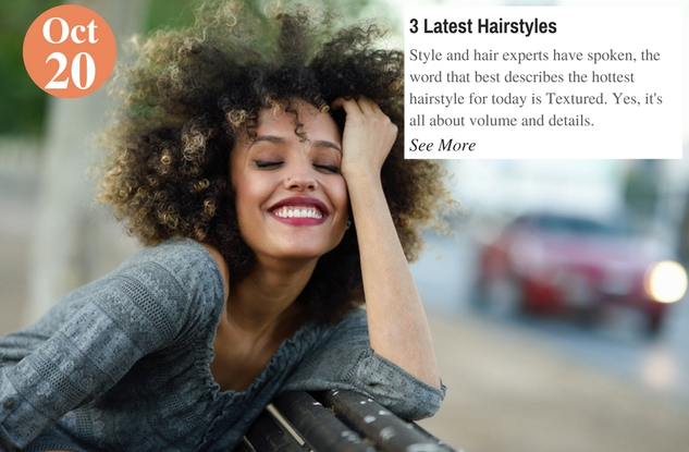 3 Latest Hairstyles