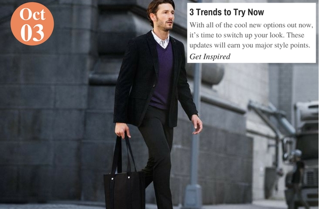 3 Trends to Try Now