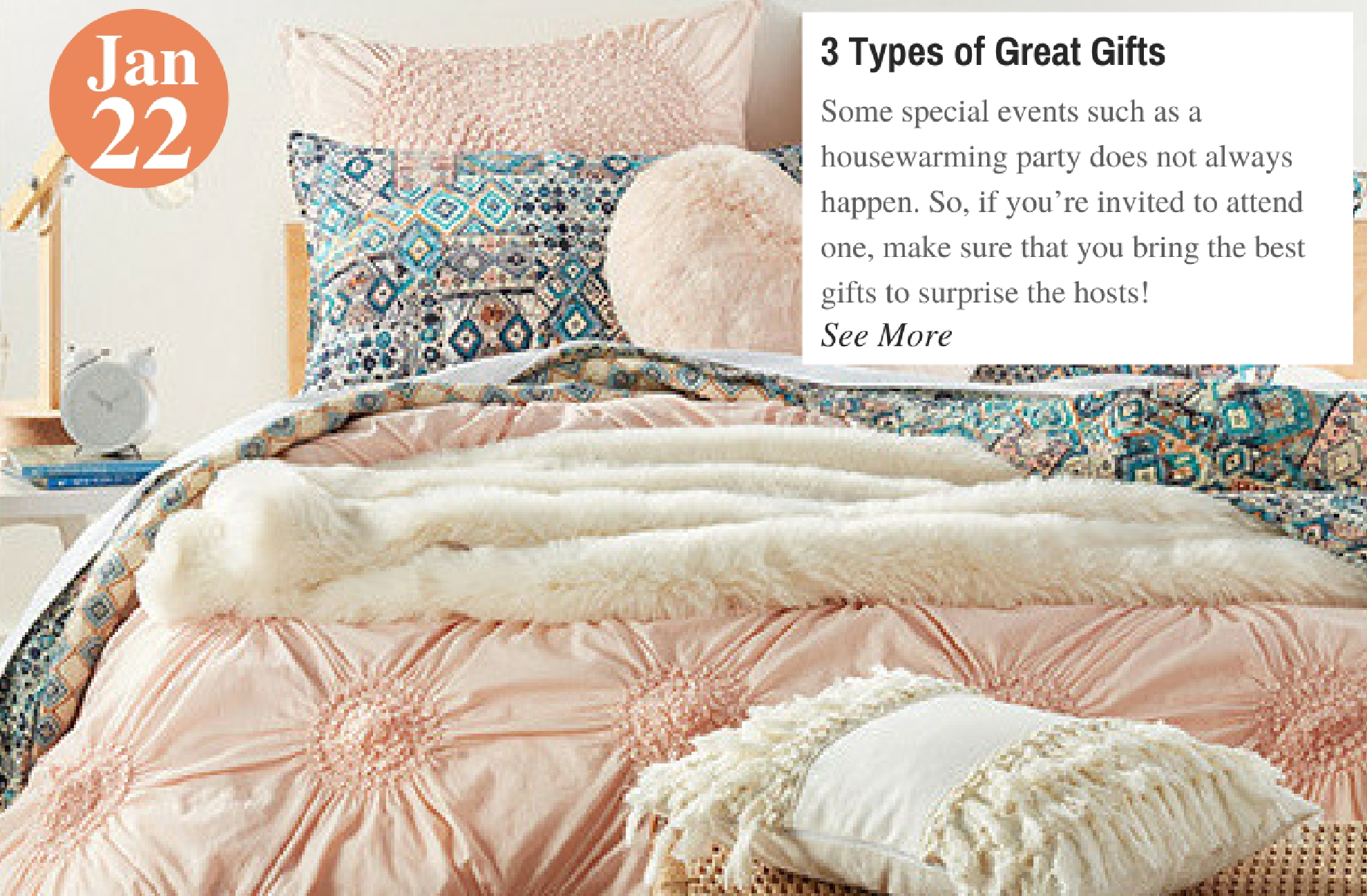 3 Types of Great Gifts