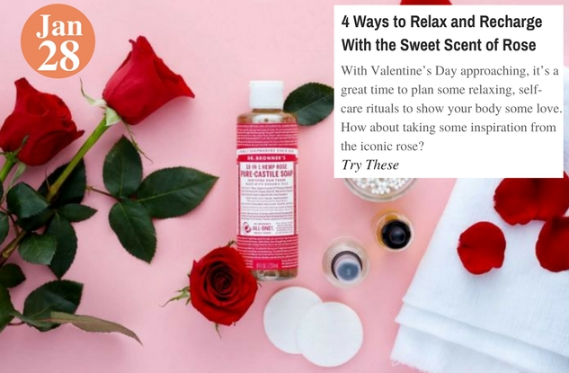 4 Ways to Relax and Recharge With the Sweet Scent of Rose