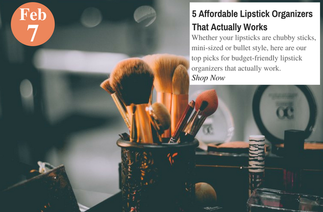 5 Affordable Lipstick Organizers That Actually Works