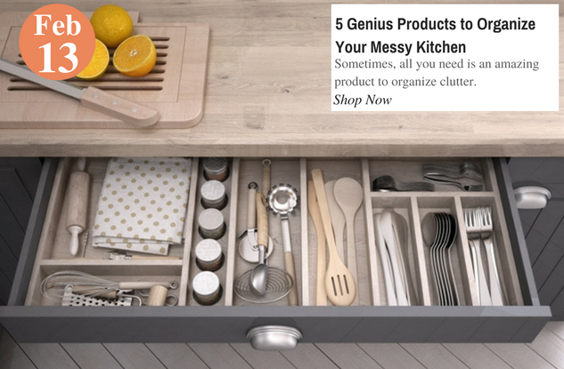 5 Genius Products to Organize Your Messy Kitchen