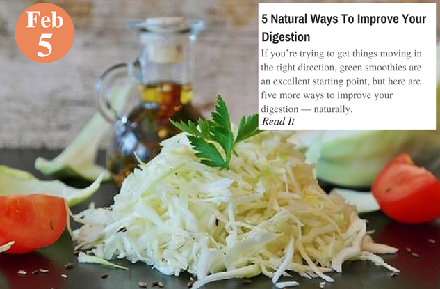 5 Natural Ways To Improve Your Digestion