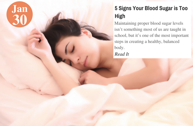 5 Signs Your Blood Sugar is Too High
