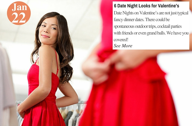 6 Date Night Looks for Valentine's