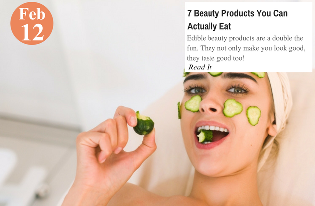 7 Beauty Products You Can Actually Eat