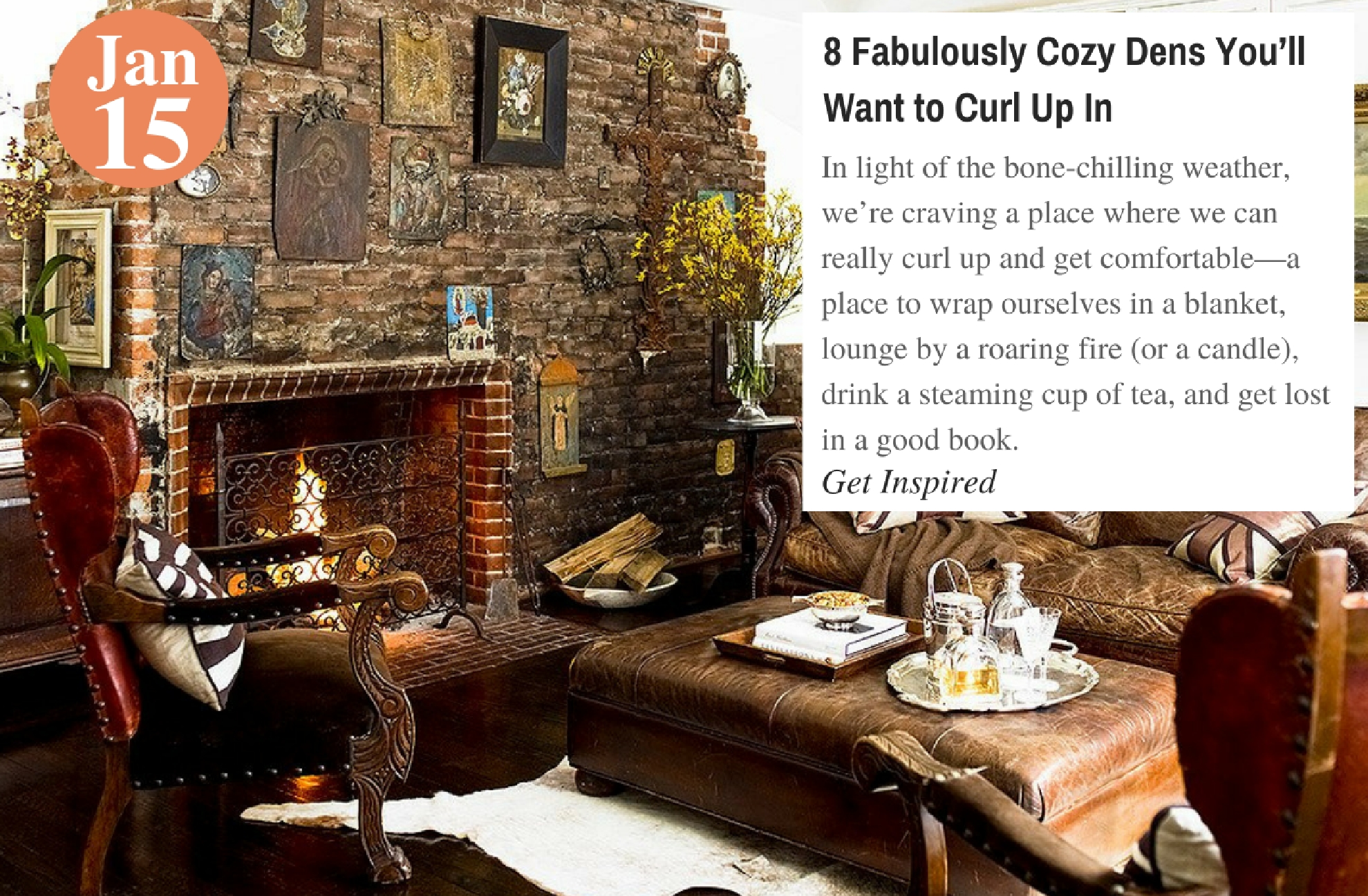 8 Fabulously Cozy Dens You'll Want to Curl Up In