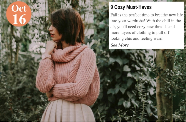 9 Cozy Must-Haves