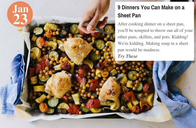 9 Dinners You Can Make on a Sheet Pan